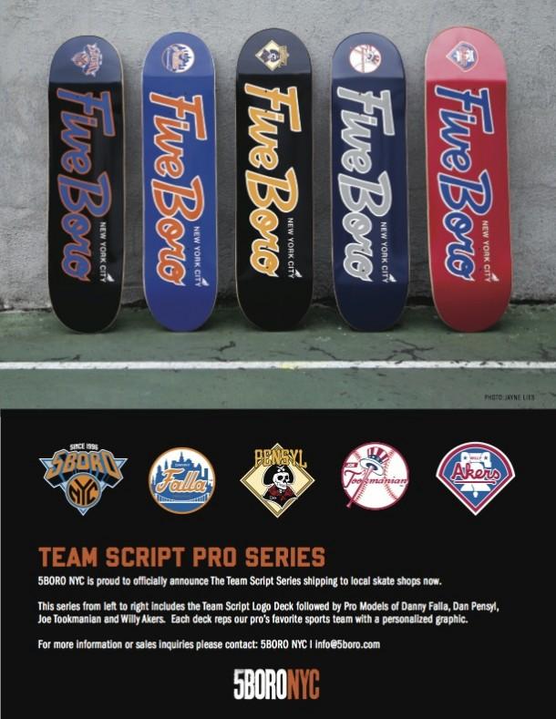 5BORO NYC Team Script Pro Series Release
