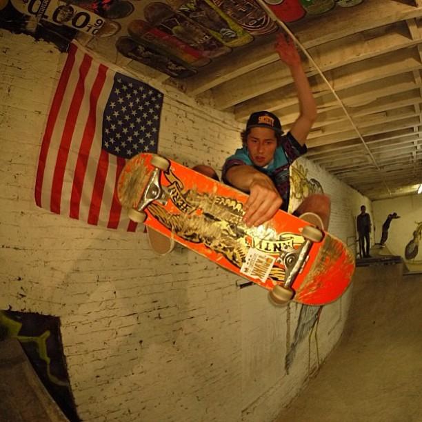 Josh Ettinger at the 660 Ramp