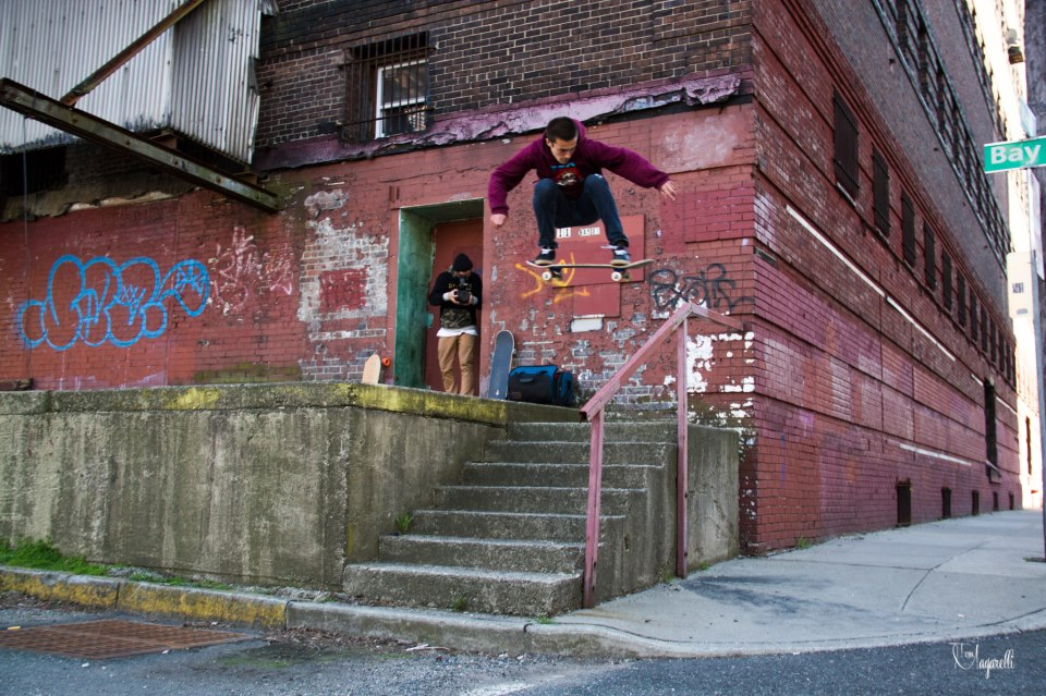 ryan losito ollie jersey city handrail